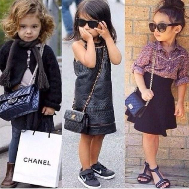 בגדי ילדים, במיוחד עבור הורים שרוצים שילדיהם יראו עשירים