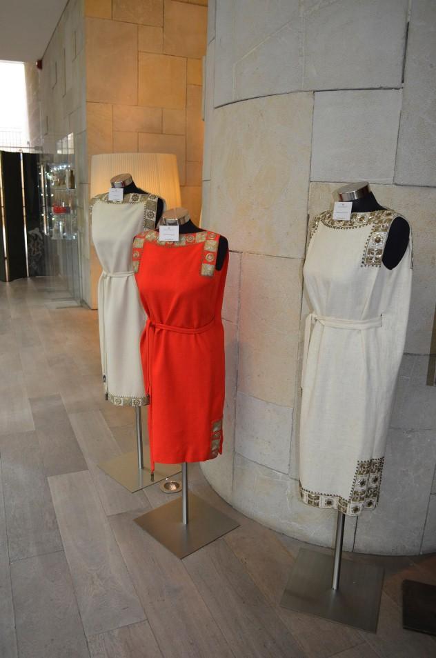 """שמלות הטוגה המפורסמות. צילום: יח""""צ"""