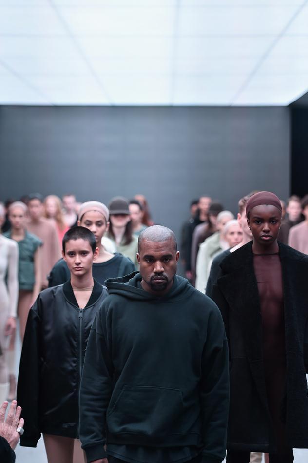 קנייה X אדידס בשבוע האופנה בניו יורק (צילום: גטי אימג'ס)