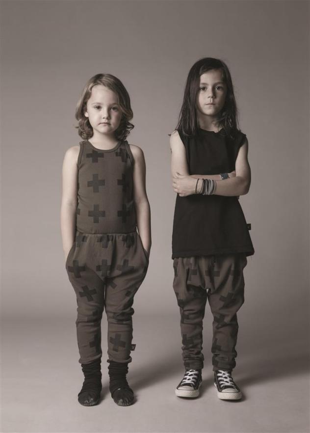 בגדי הילדים המונוכרומטיים של נו נו נו (צילום: דודי חסון)