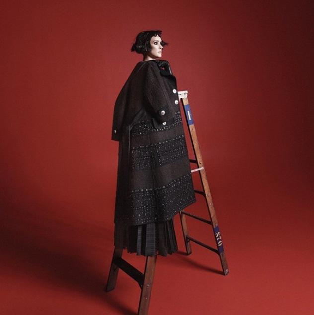 וינו פוראבר: ריידר בתמונה מהקמפיין החדש (צילום: אינסטגרם themarcjacobs)