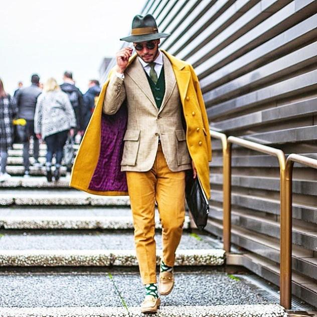 קאדו דנטס. אייקון אופנה בינלאומי (צילום: אינסטגרם blog do kadu)