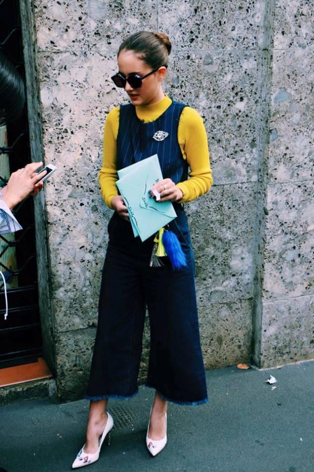 בת 16 שמסתובבת בין שבועות האופנה בעולם (צילום: אינסטגרם)