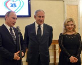 מרוסיה באהבה: שרה נתניהו בשמלה של אלון ליבנה