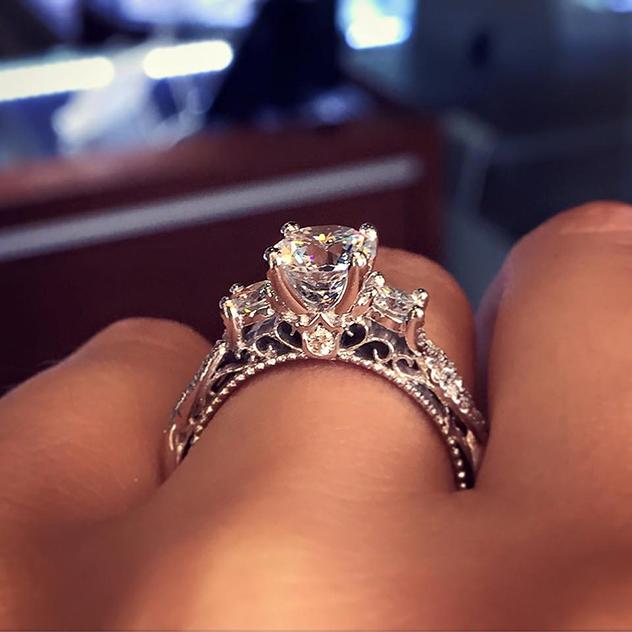 הטבעת שכבשה את כולן. Verragio לריימונד לי (צילום: Diamonds By Raymond Lee)