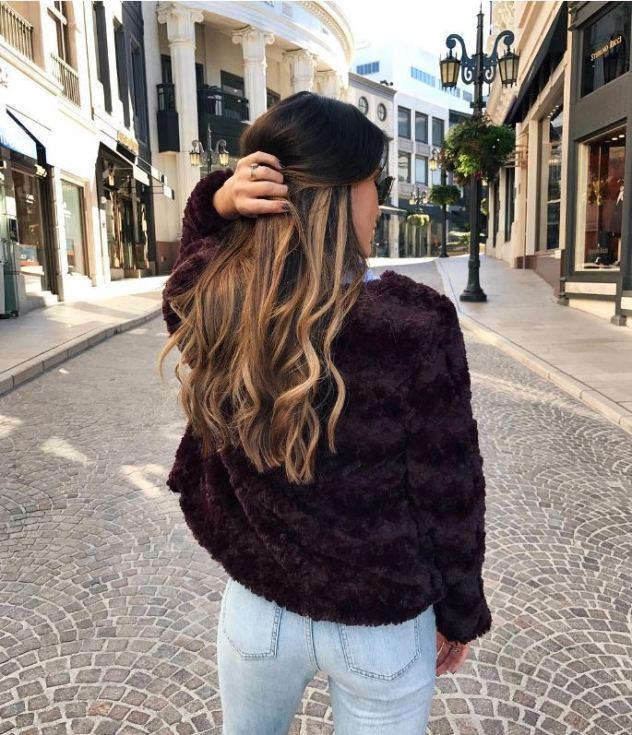 שיער עם קארמה טובה. מי לא תרצה? (צילום: אינסטגרם thriftsandthreads)