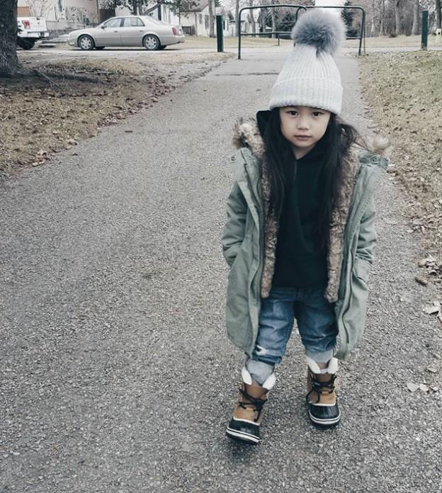 זה מוזר לקנא בילדה בת 5? (צילום: אינסטגרם itsbeanstyle)
