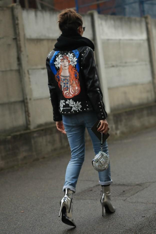 ג'ינס קרעים ועקבים (צילום: אסף ליברפרוינד)