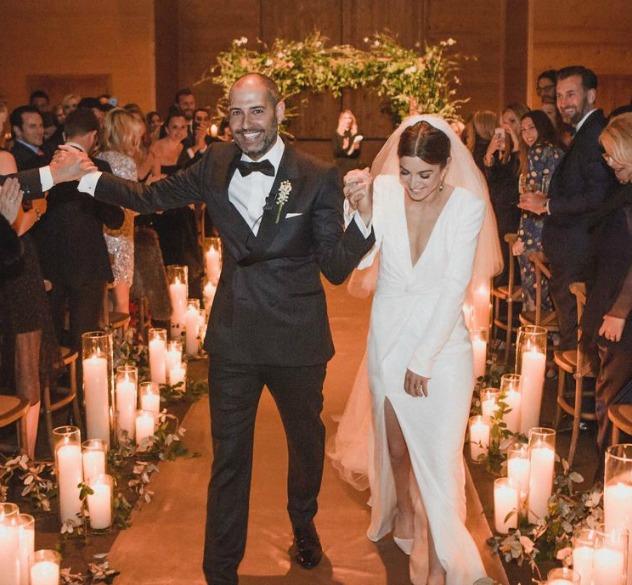 לראות ולהתמוגג. החתונה הכובשת של ג'יימי וניקו מזרחי (צילום: בריידון פלין, סריקה ווג)