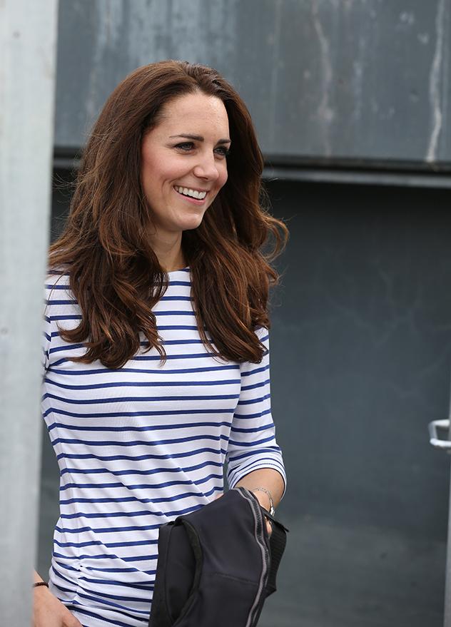 אמא שלך לא לימדה אותך שלא לובשים פסים לרוחב? (צילום: Fiona Goodall Pool/Getty Images)