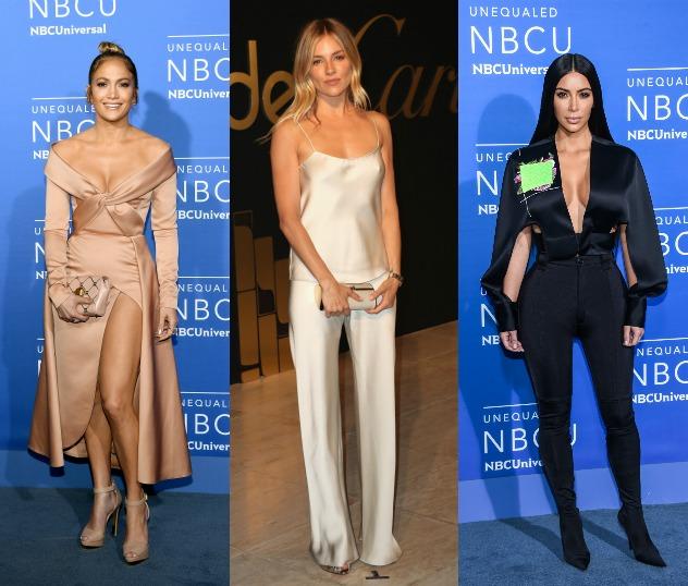 קים קרדשיאן, סיינה מילר וג'ניפר לופז. המתלבשות הטובות והרעות של השבוע (צילום: Getty Images)