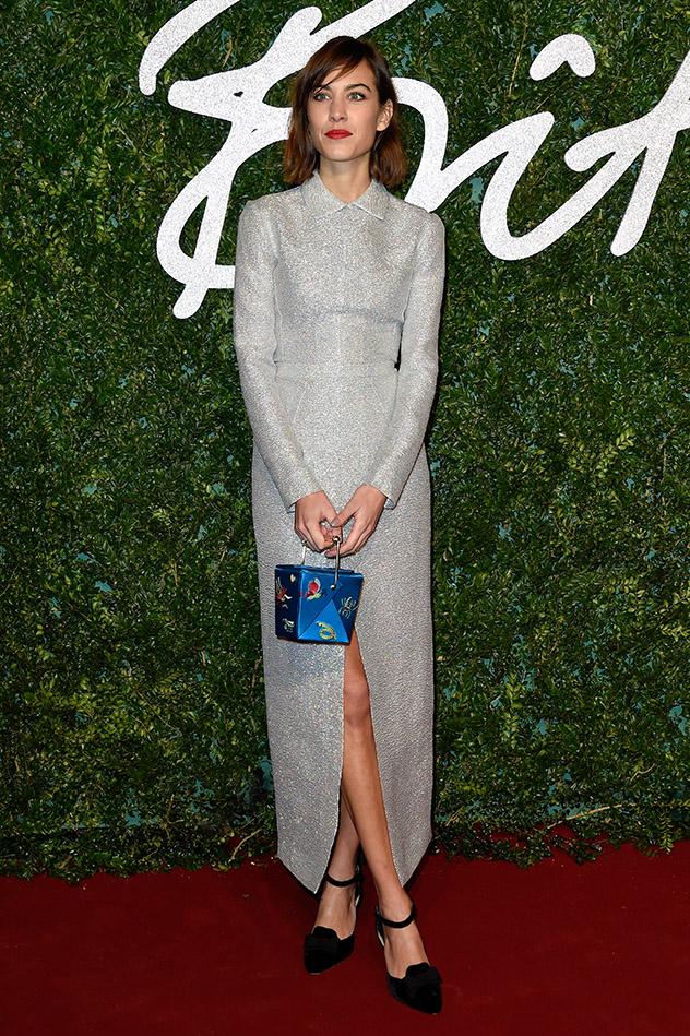 אלכסה צ'אנג בשמלה של וויקסטד (צילום: y Pascal Le Segretain/Getty Images)