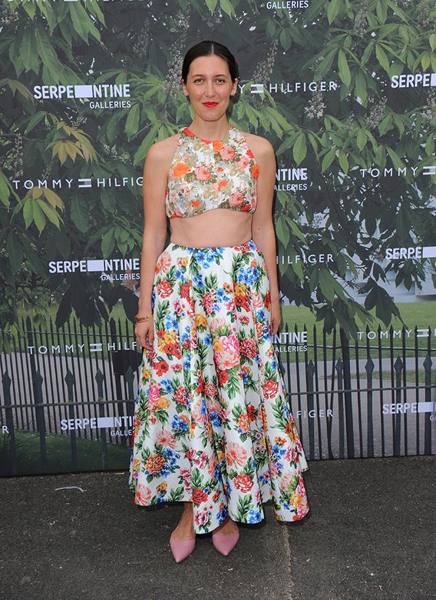 רק בת 33 וכבר כובשת את תעשיית האופנה בסערה. אמיליה וויקסטד (צילום:  Eamonn M. McCormack/Getty Images)