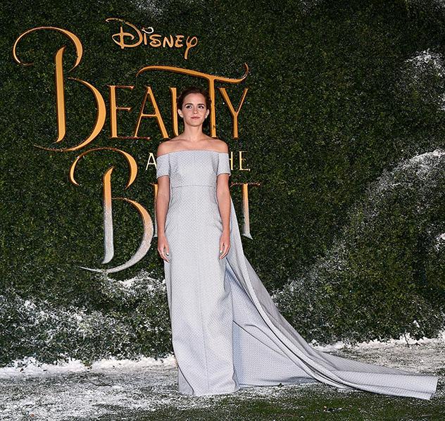 """אמה ווטסון לבשה וויקסטד בפרמיירה הלונדונית של """"היפה והחיה"""" (צילום: Stuart C. Wilson/Stuart C. Wilson/Getty Images for Disney)"""