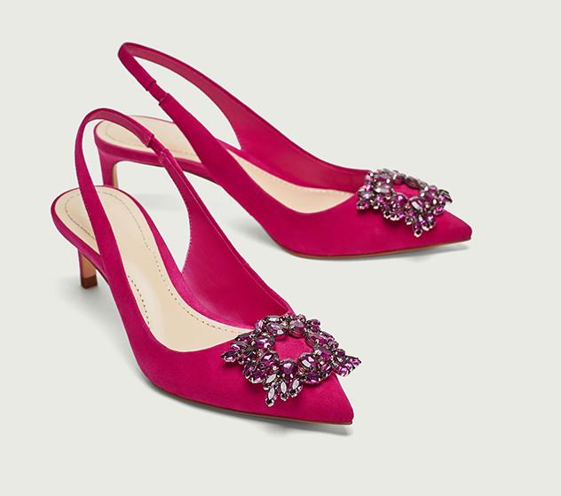 נעלי זארה החדשות. מזכירות באופן כמעט מחשיד את נעלי מנולו בלניק (צילום: מתוך האתר הרשמי)
