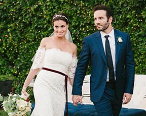 אלזה התחתנה בשמלת כלה מרהיבה