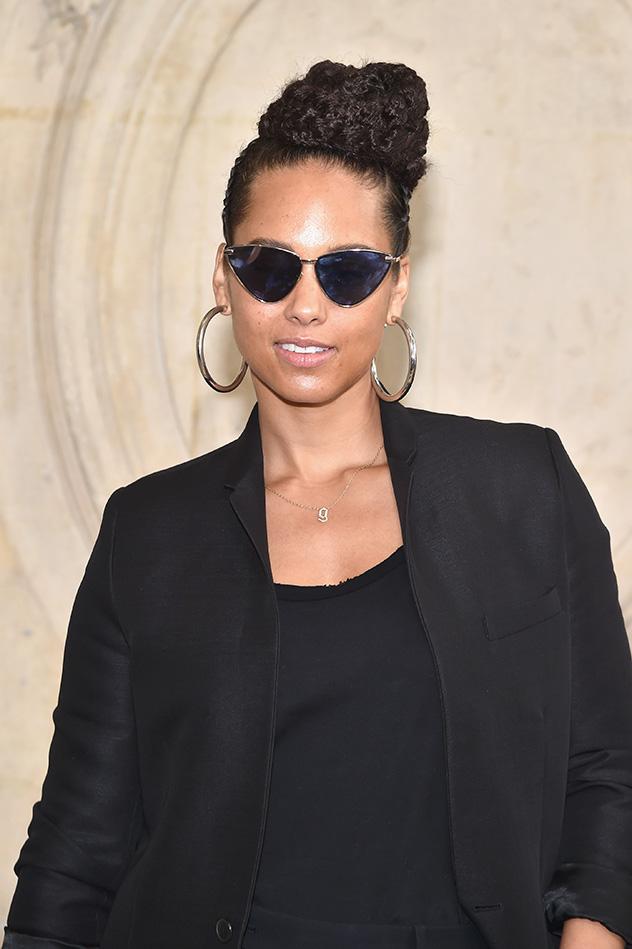 הפסיקה להתאפר. אלישיה קיז (צילום: Pascal-Le-Segretain/Getty-Images-for-Dior)