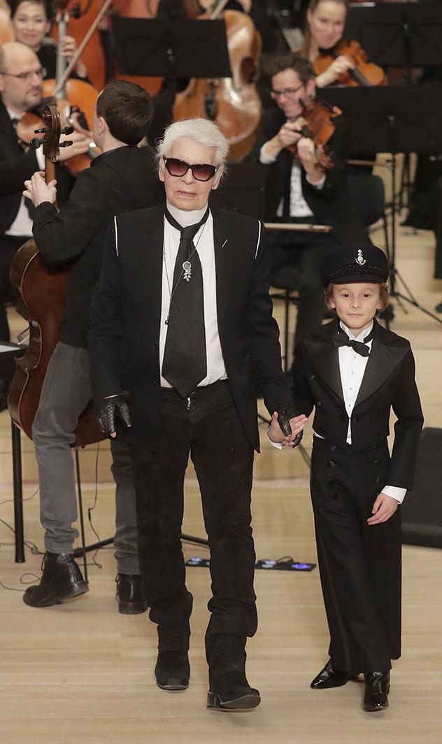 המאסטרו ובן טיפוחיו  (צילום: AP Photo/Markus Schreiber)