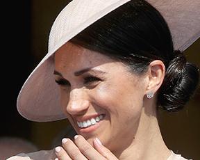 שלום לדוכסית: מייגן שוב נראית כמו כלה באירוע הרשמי הראשון שלה