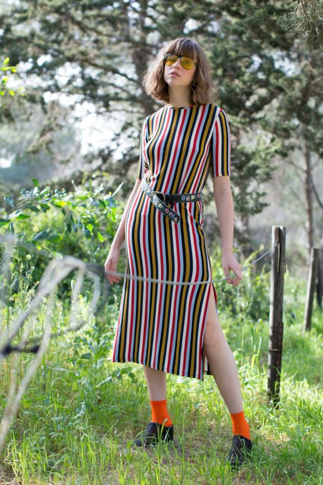 שמלה: זארה, חגורה: טופשופ, נעליים: miista לסטורי