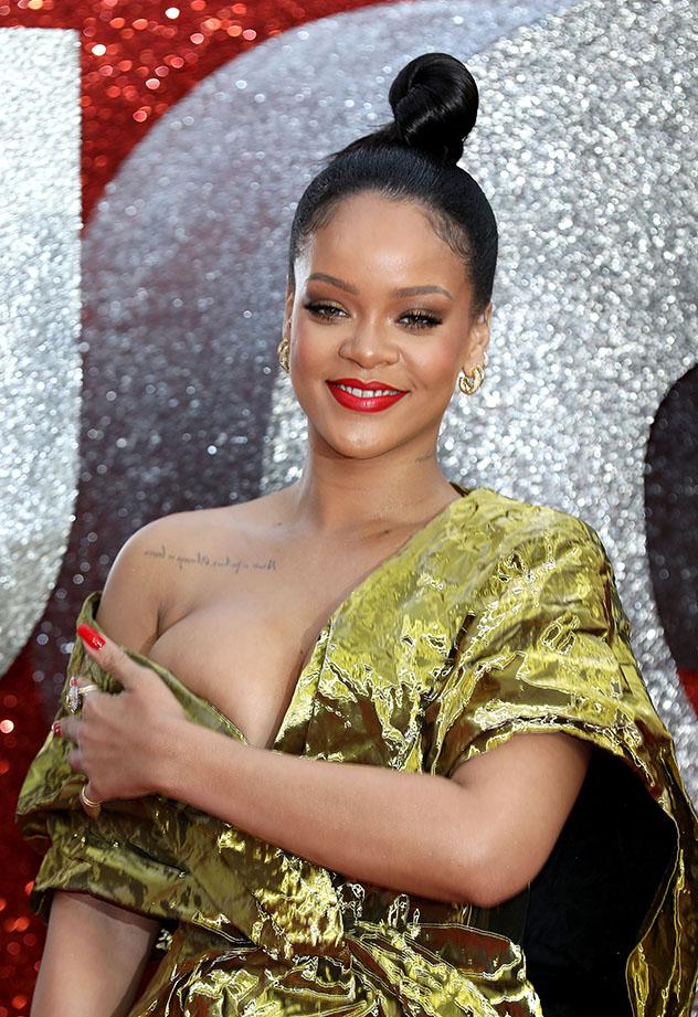 רירי ושמלת הזהב (צילום: im P. Whitby/Getty Image)