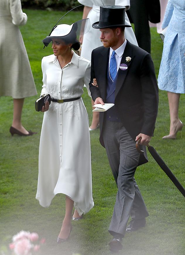 גם הפעם היא הצליחה לשבור קצת את החוקים (צילום: Naomi Baker/Getty Images for Ascot Racecourse )
