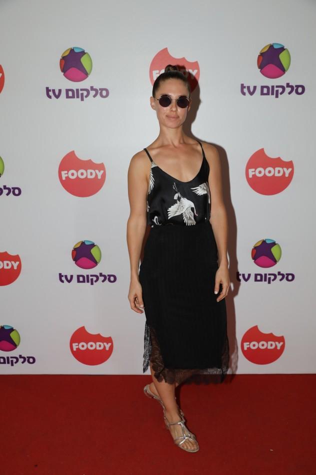 דנה גרוצקי באירוע ההשקה של ערוץ FOODY בסלקום T.V (צילום: רפי דלויה)