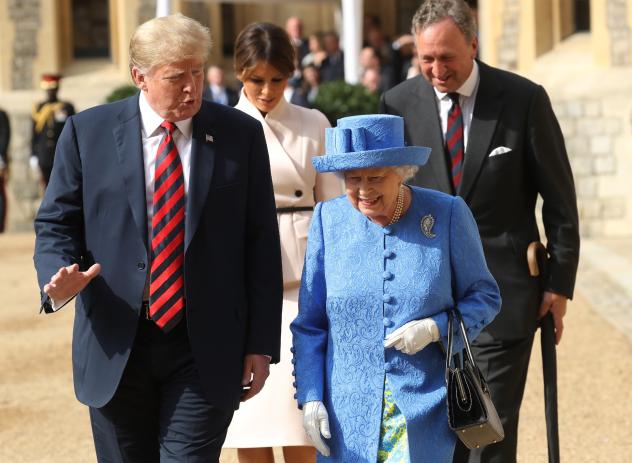 יצאה מלכה (צילום: Gettyimages)