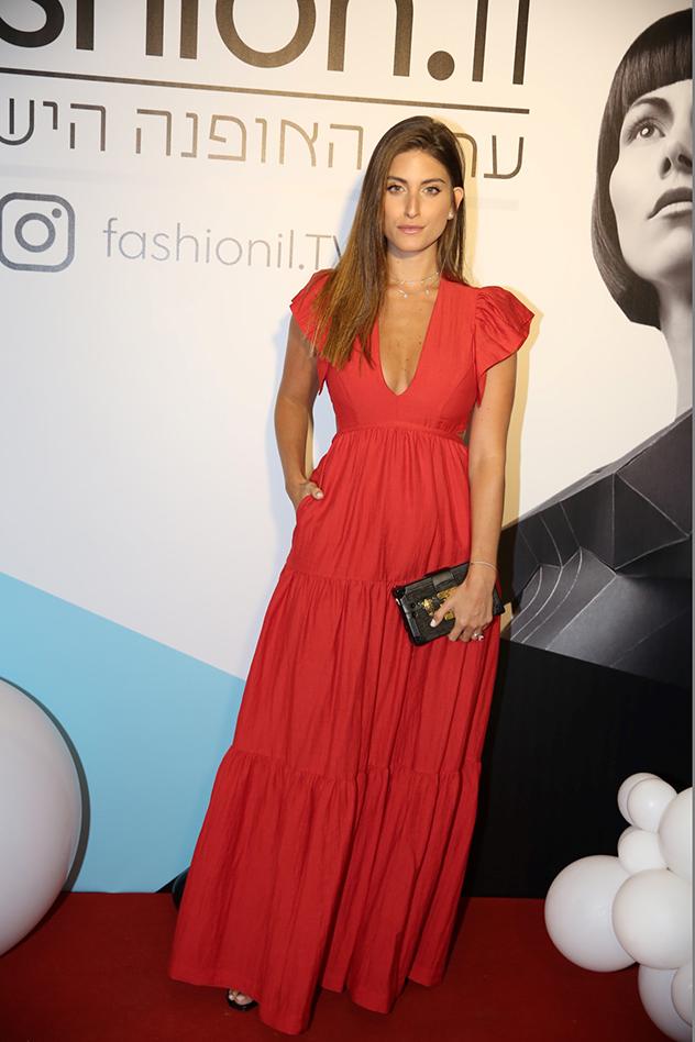דנה זרמון בהשקת ערוץ האופנה החדש - Fashion.il (צילום: אלירן אביטל)
