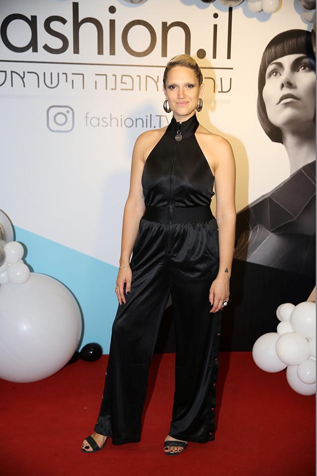 מרינה מקסימיליאן בלומין בהשקת ערוץ האופנה החדש - Fashion.il (צילום: אלירן אביטל)