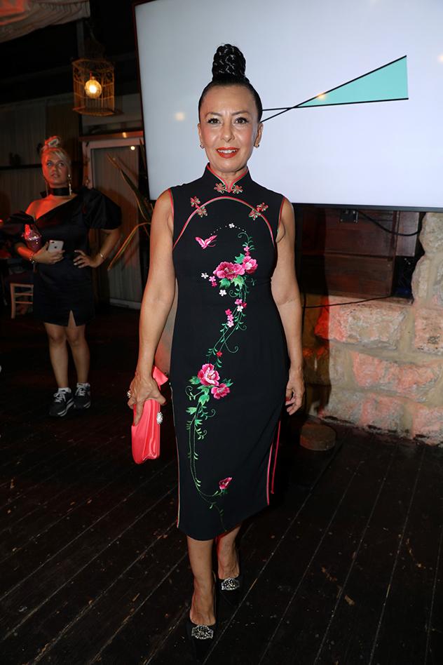 אוולין הגואל בהשקת ערוץ האופנה החדש - Fashion.il (צילום: רפי דלויה)