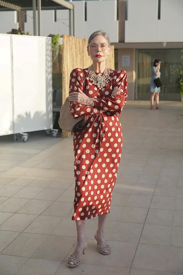 קארן דונסקי בהשקת ספא הורייזן במלון שרתון תל אביב (צילום: שוקה כהן)