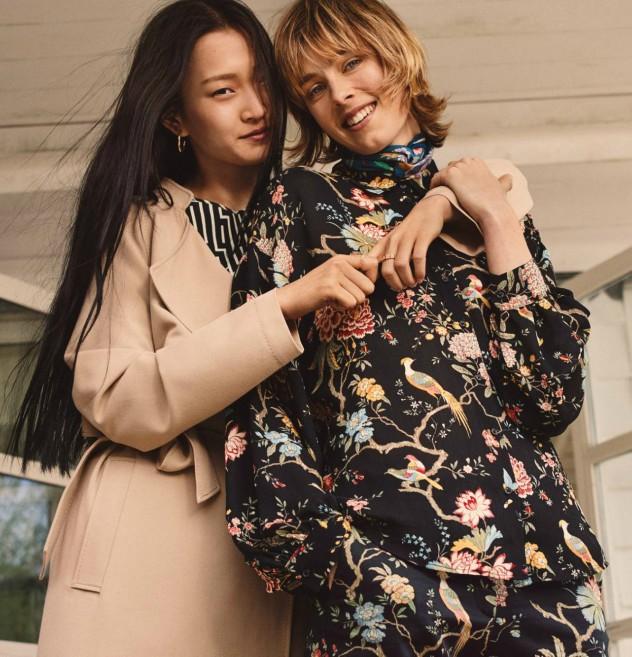 משפחה לא מודדים (צילום: הנס מוריץ, מתוך האתר הרשמי של H&M)