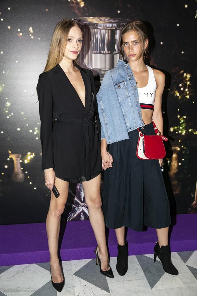 שון לוי וסתיו סטרשקו באירוע ההשקה הרשמי לבושם Roberto Cavalli Florence (צילום: לנס הפקות)