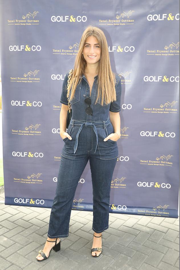 דנה זרמון באירוע השקת קולקציית הקפסולה של ינאי פרישר-גוטמן וגולף אנד קו (צילום: רפי דלויה)