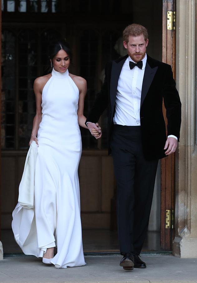 ככה זה היה נראה כשהשמלה הייתה קסטיום מייד למייגן (צילום: Steve Parsons - WPA Pool/Getty Images)