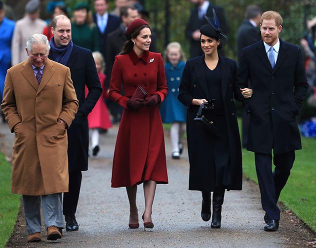 למשפחה המלכותית, כל יום זה כמו חג (צילום: Stephen Pond/Getty Images)