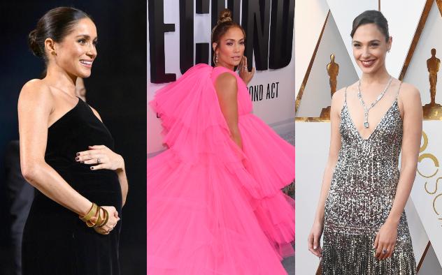 גל גדות, ג'יי לו ומייגן. המתלבשות הטובות והרעות של 2018 (צילום: Getty Images)