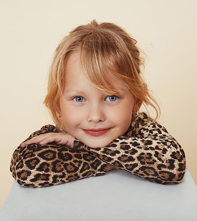 התחילה לדגמן בגיל 3 (צילום: שי פרנקו)