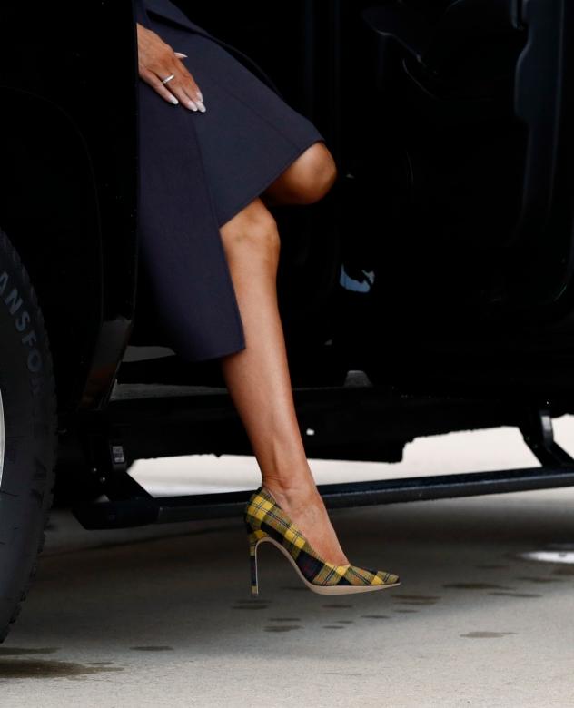 עפנו על הנעליים של מנולו בלאניק (צילום: Patrick Semansky ל- AP)