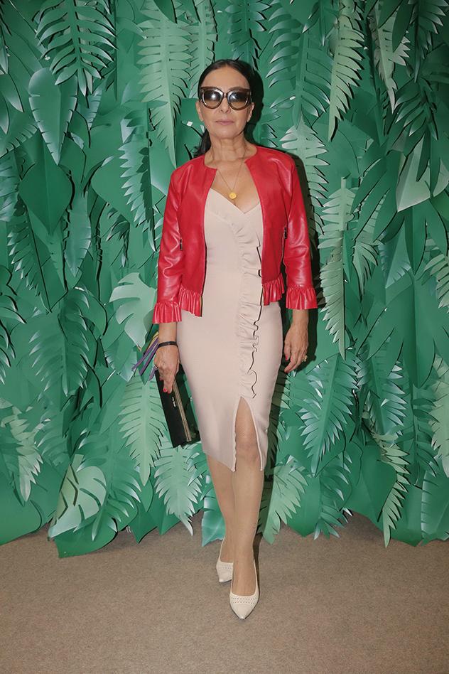 אוולין הגואל בהשקת המותג אנתרופולוג'י בקניון TLV (צילום: שוקה כהן)