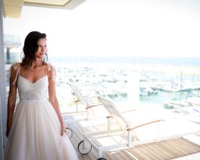 """כל הפרטים על שמלת הכלה המושלמת של אורטל מ""""חתונה ממבט ראשון"""""""