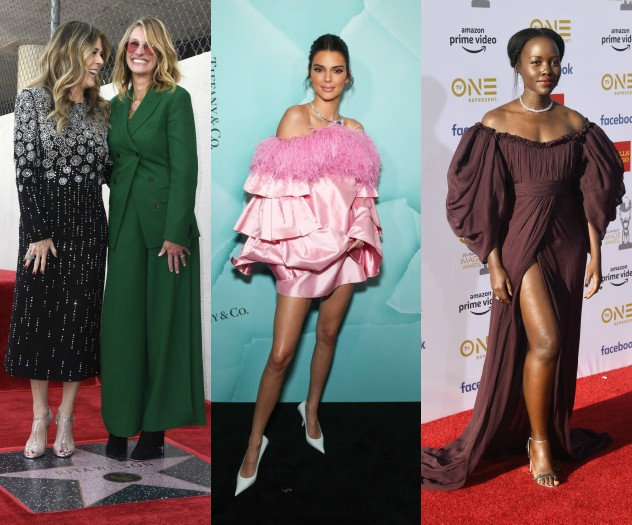 לופיטה, קנדל וג'וליה. המתלבשות הטובות והרעות של השבוע (צילום: Getty Images)