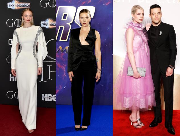 לוסי בוינטון, סקרלט ג'והנסון וסופי טרנר. המתלבשות הטובות והרעות של השבוע (צילום: Getty Images)