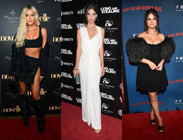 סלינה, אמילי וקלואי. המתלבשות הטובות והרעות של השבוע (צילום: Getty Images)