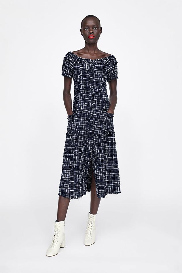 השמלה מתוך האתר של זארה