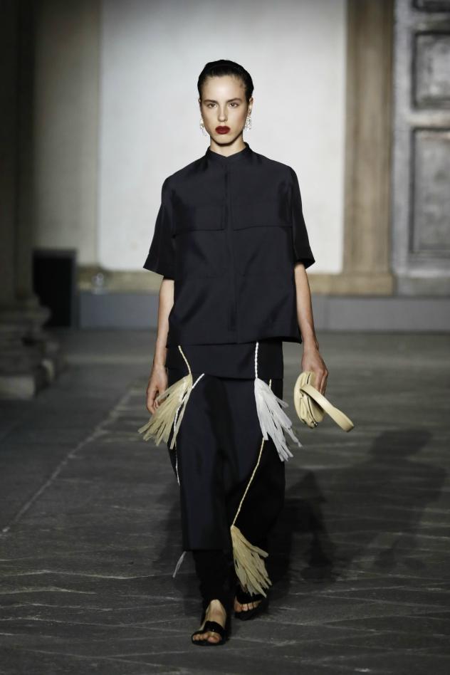 אריאל הלוי בשבוע האופנה (צילום: John Phillips/Getty Images)