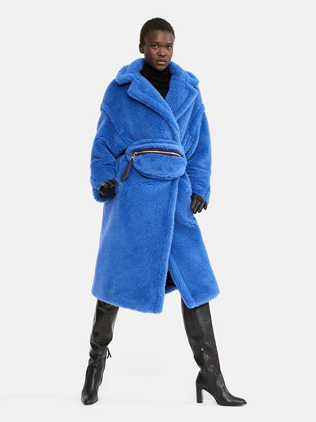 בראש רשימת המשאלות שלנו: מעיל הטדי של מקס מארה (צילום: יחסי ציבור)