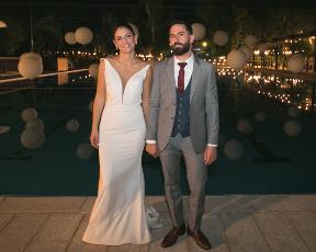 """מינימליסטית ויפה: הכל על שמלת הכלה של הגר מ""""חתונה ממבט ראשון"""""""