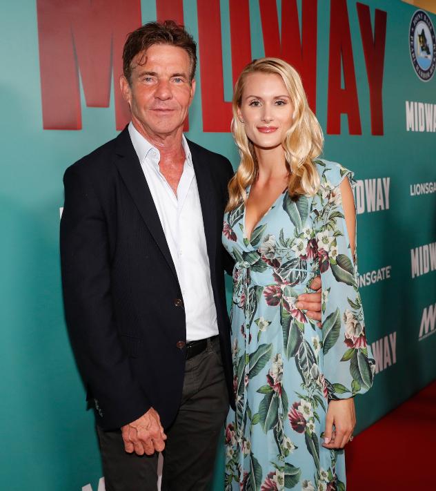 דניס קווייד ולורה סאבוי (צילום: Marco Garcia/Getty Images for Lionsgate Entertainment)